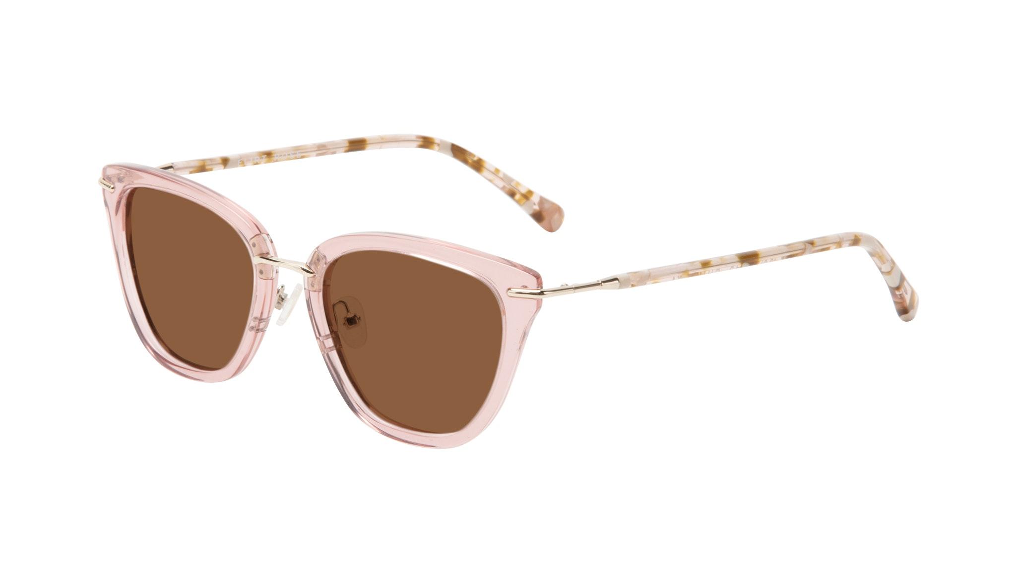 Affordable Fashion Glasses Square Sunglasses Women Flirt Rose Tilt