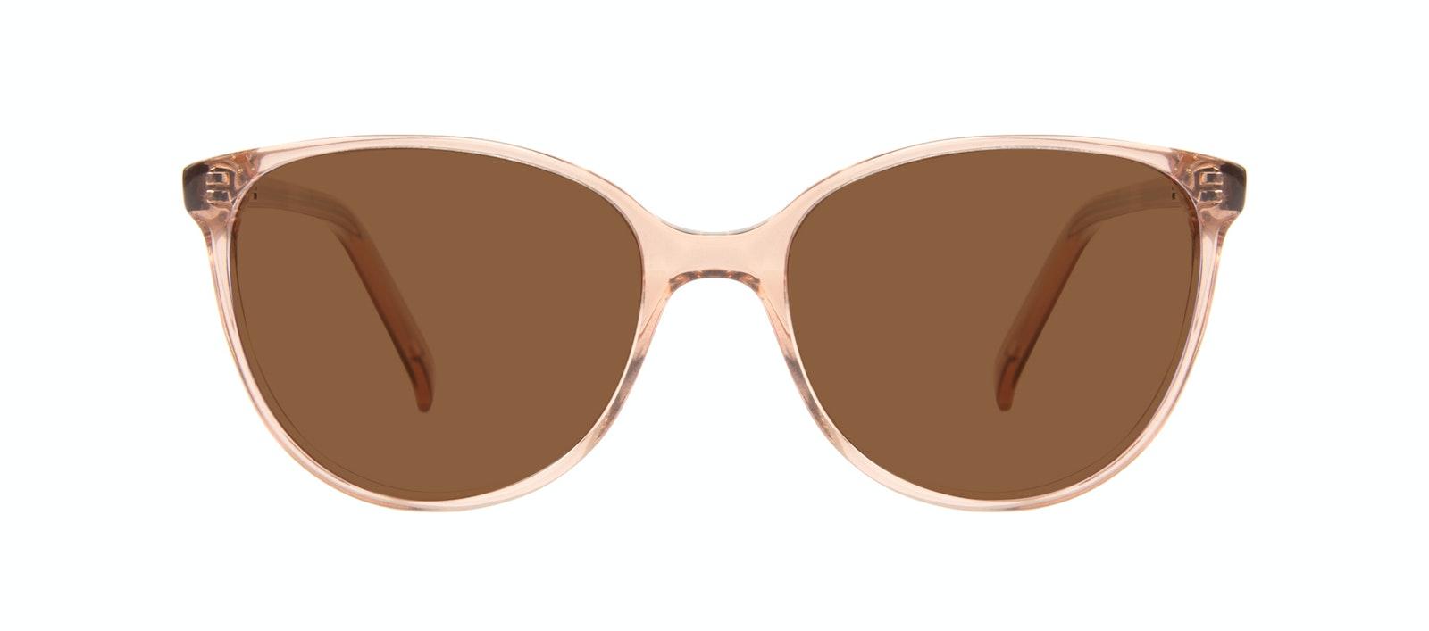 Affordable Fashion Glasses Round Sunglasses Women Imagine Petite Rose Front