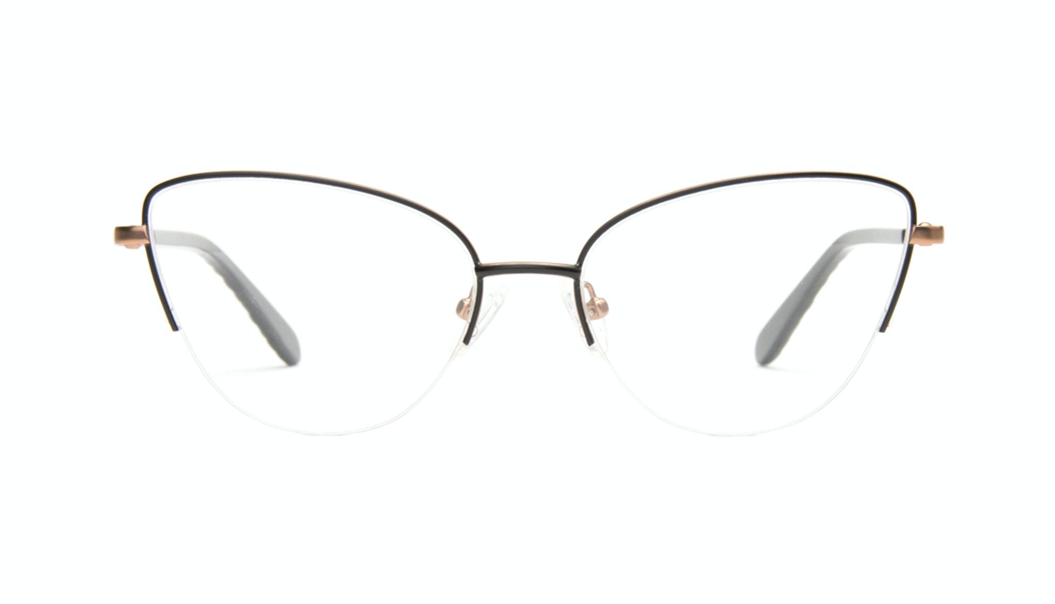 Lunettes tendance Oeil de chat Optiques Femmes Airy  Black Copper