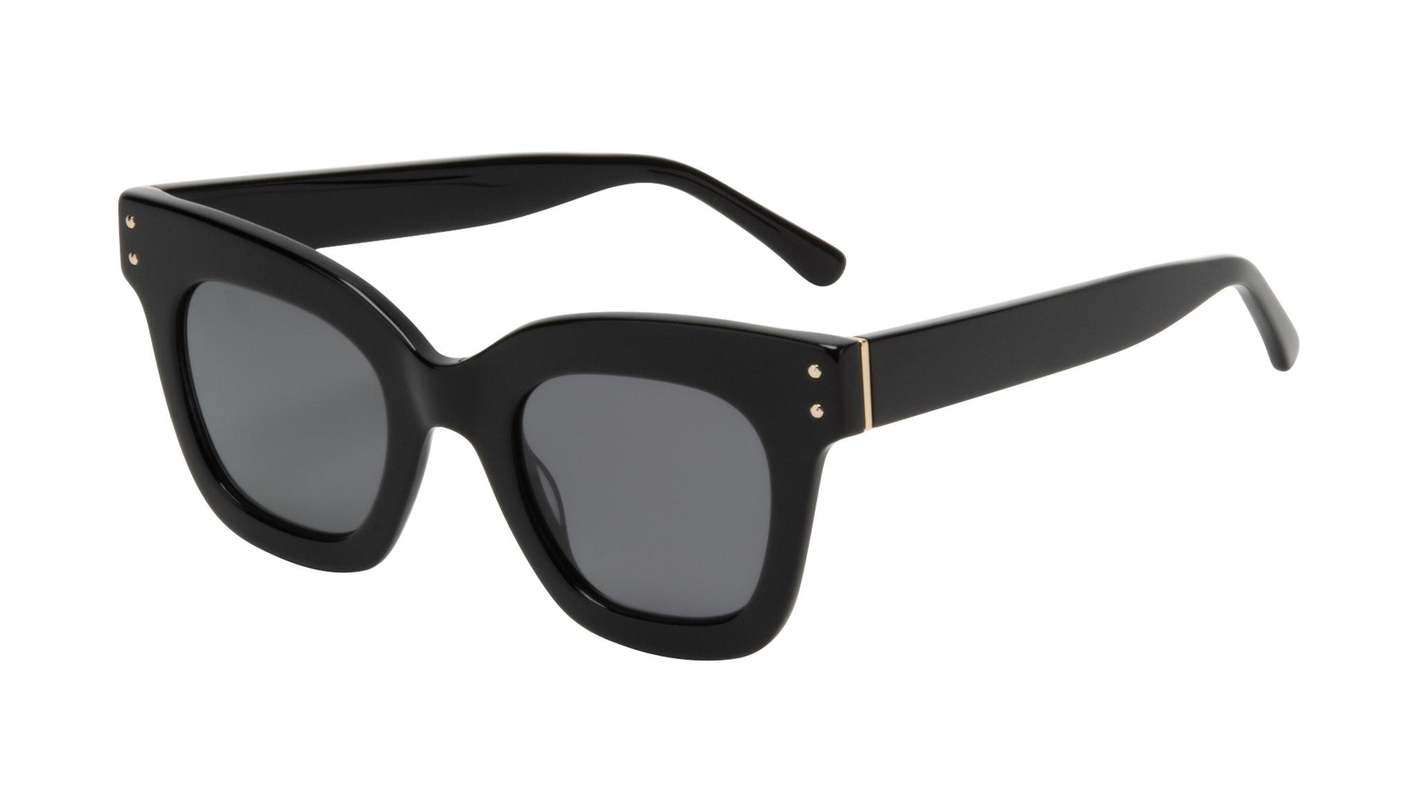Affordable Fashion Glasses Square Sunglasses Women Fever Onyx Tilt