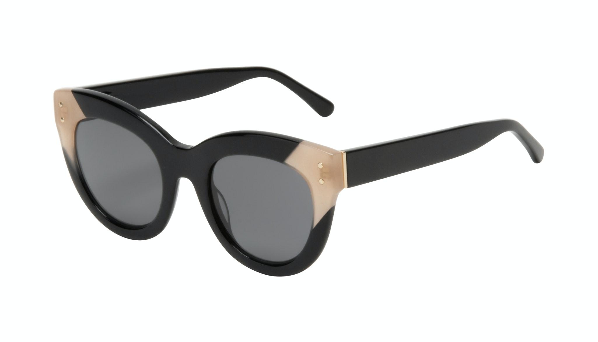 Affordable Fashion Glasses Cat Eye Sunglasses Women Groove Onyx Tilt