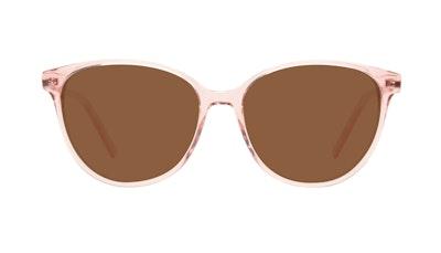 Affordable Fashion Glasses Cat Eye Sunglasses Women Imagine II Rose Marble Front