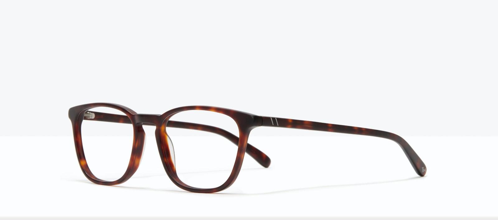 Affordable Fashion Glasses Square Eyeglasses Men Louise M Matte Tort Tilt