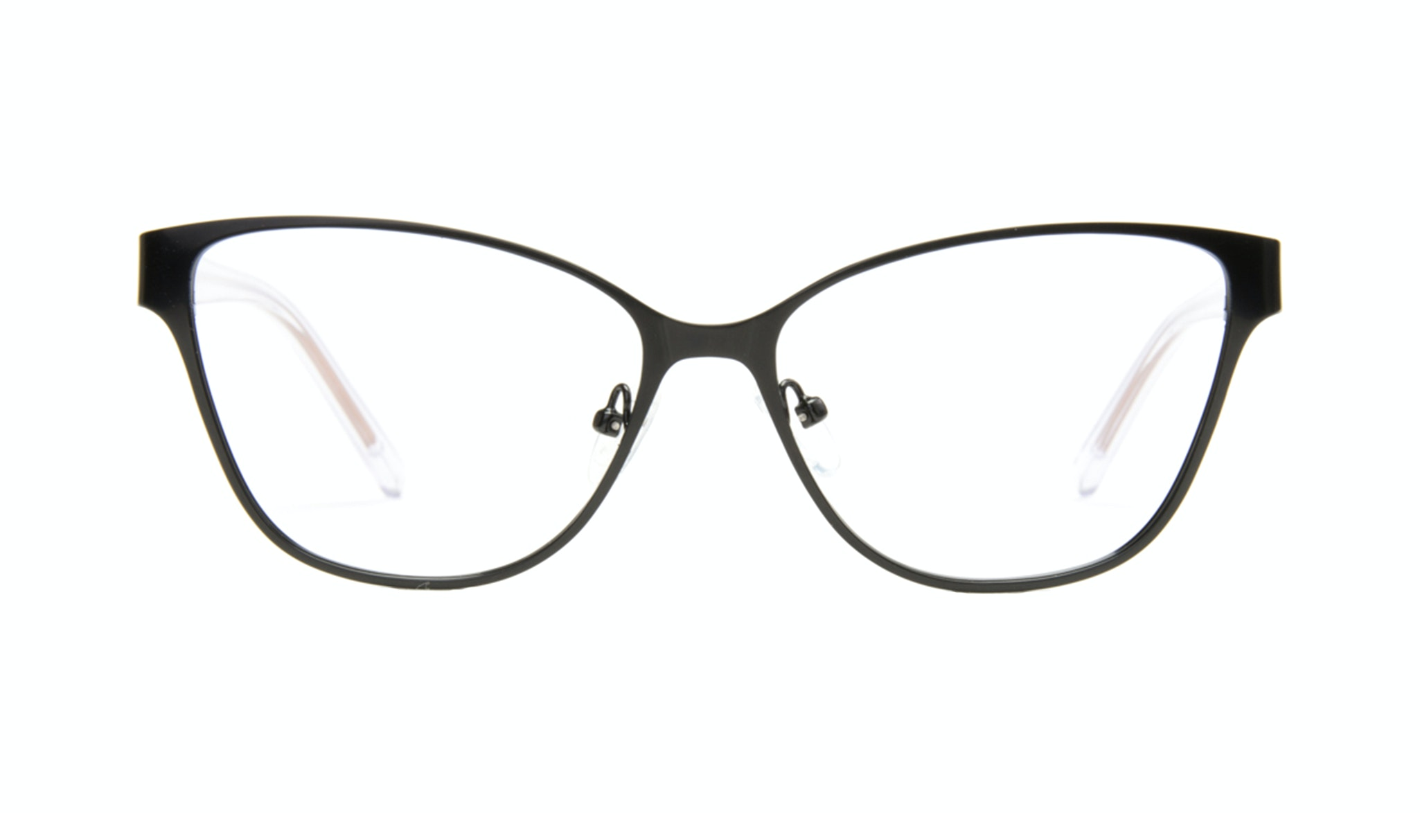 Affordable Fashion Glasses Rectangle Eyeglasses Women Radiant Black Copper