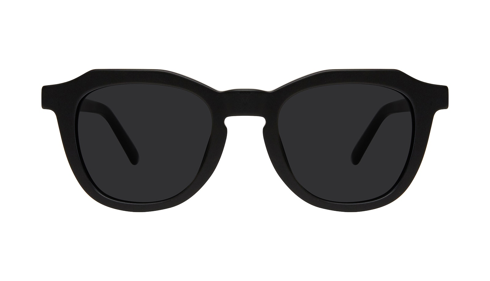 Affordable Fashion Glasses Square Sunglasses Men Action Matte Black