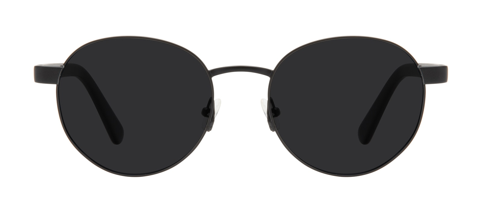 Affordable Fashion Glasses Round Sunglasses Men Alter Black Front