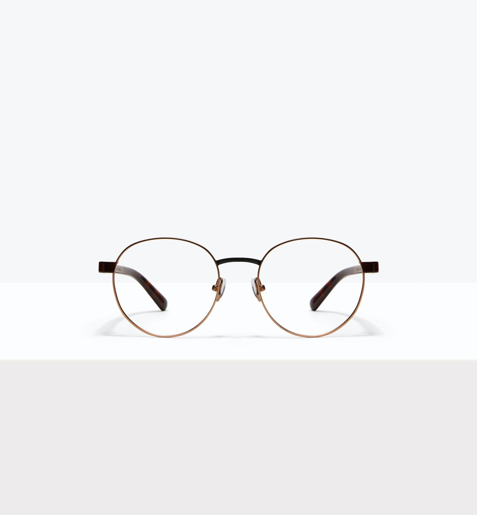 Affordable Fashion Glasses Round Eyeglasses Men Alter Dark Brass