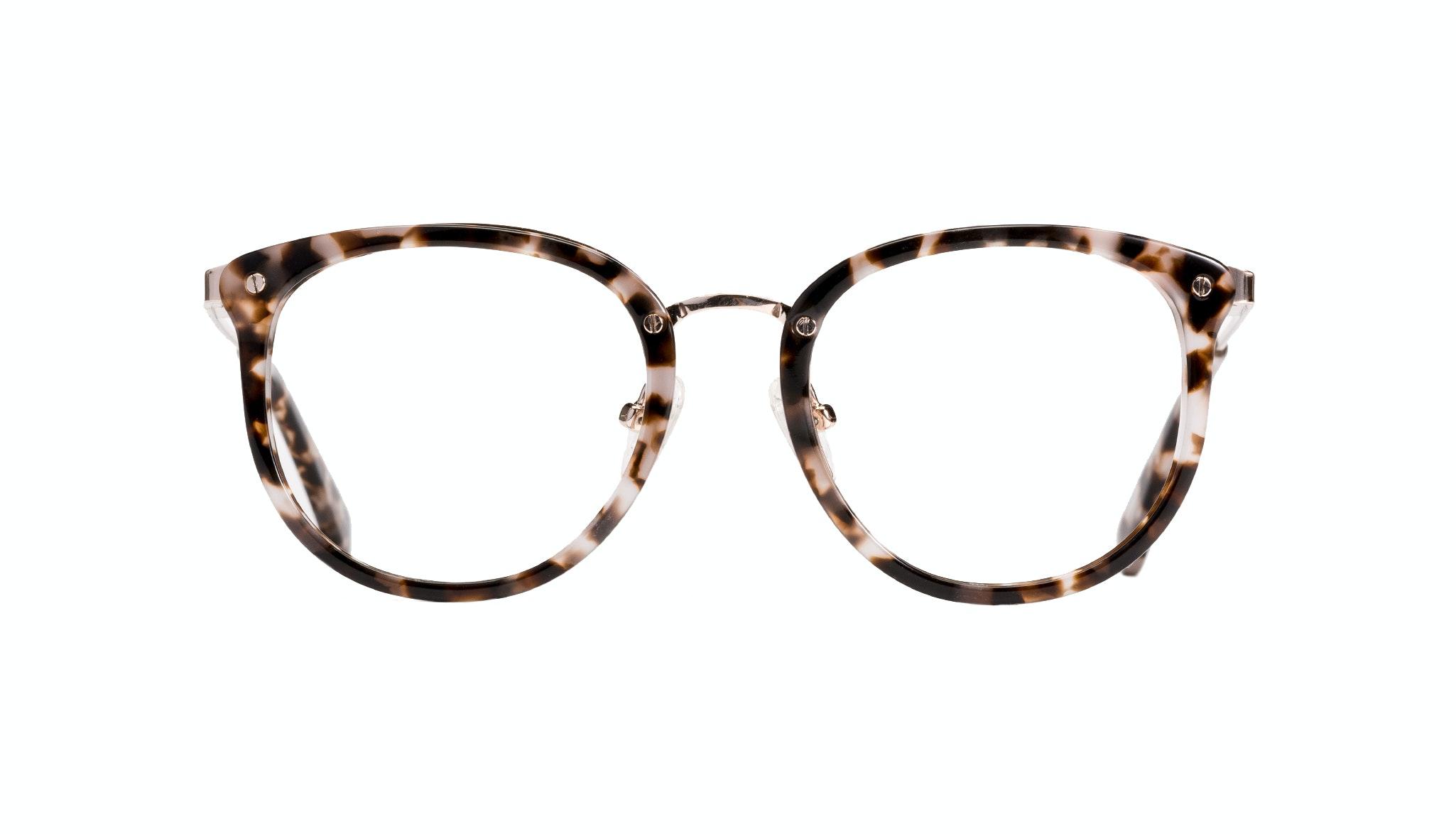 Affordable Fashion Glasses Round Eyeglasses Women Amaze Petite Mocha Tort Front