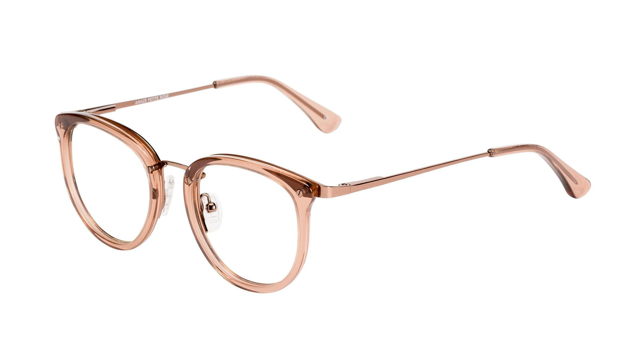 Affordable Fashion Glasses Round Eyeglasses Women Amaze Petite Rose  Tilt