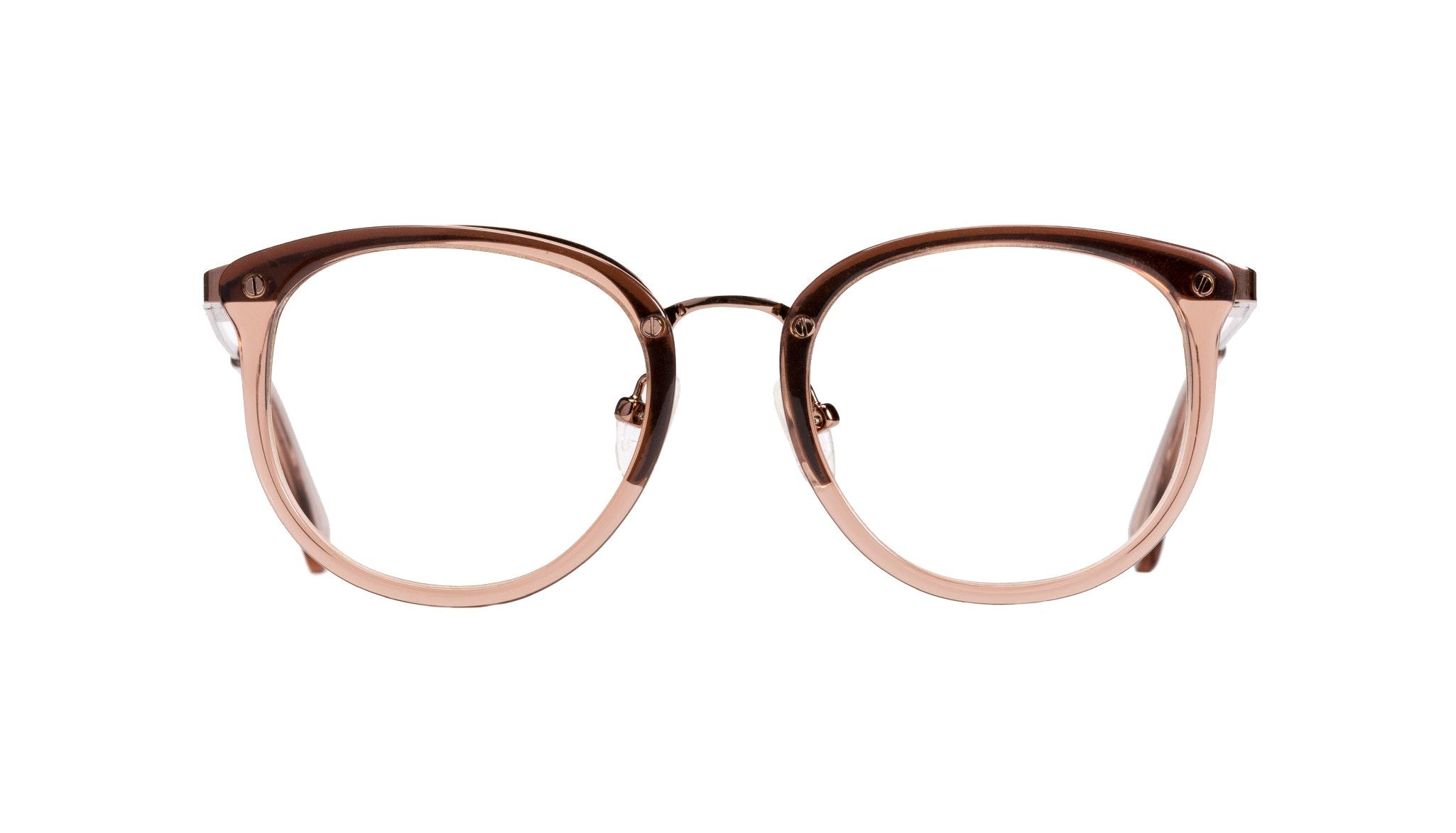 Affordable Fashion Glasses Round Eyeglasses Women Amaze Petite Rose  Front
