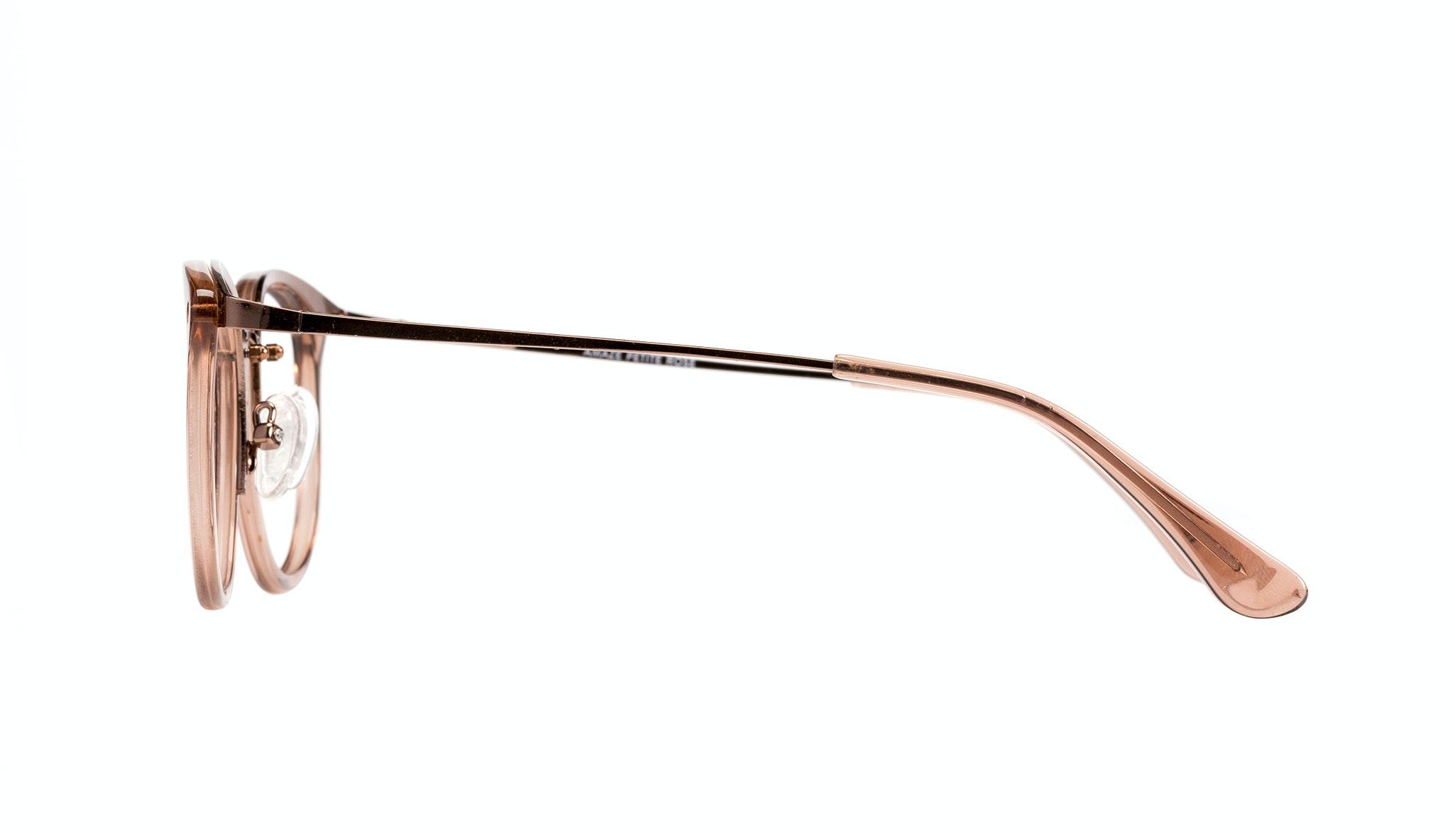 Affordable Fashion Glasses Round Eyeglasses Women Amaze Petite Rose  Side