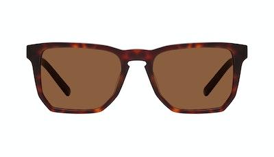 Affordable Fashion Glasses Square Sunglasses Men Andy Matte Tortoise Front