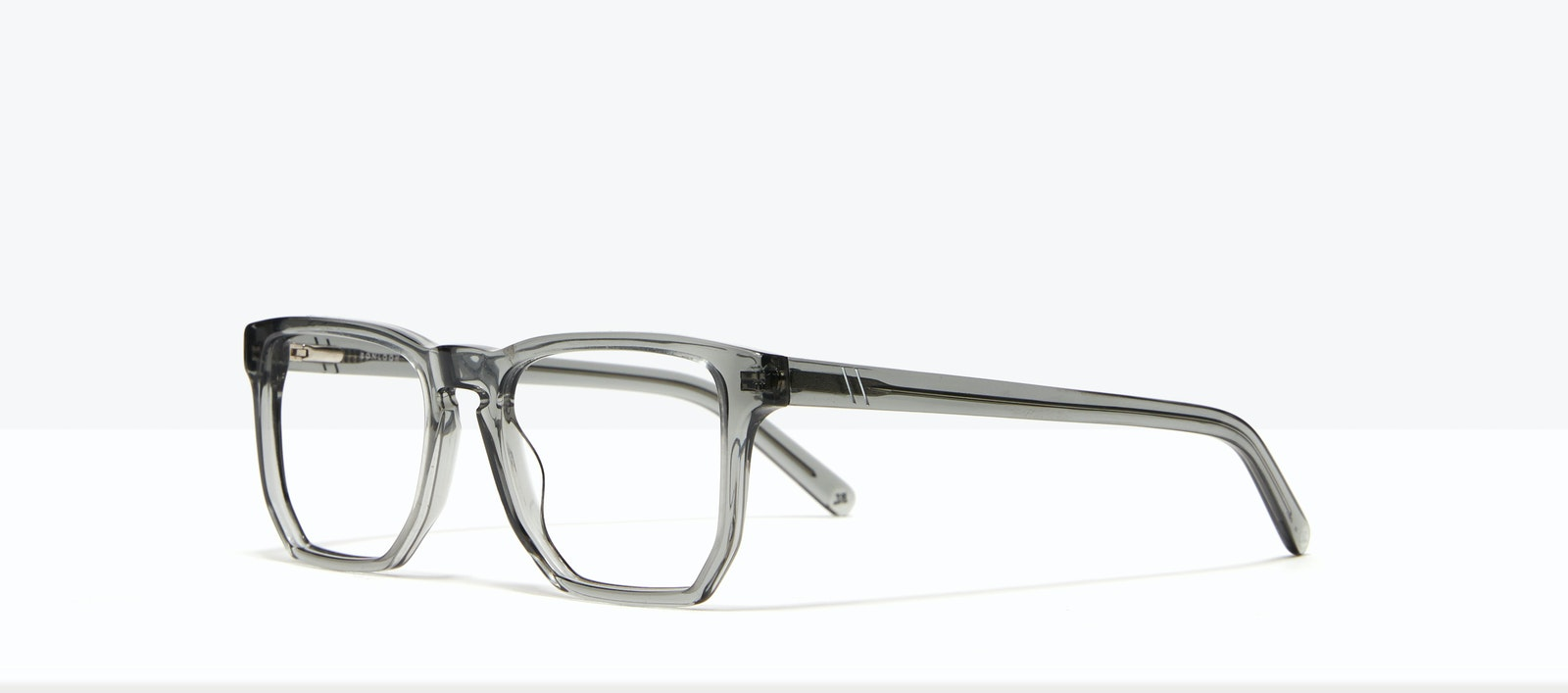 Affordable Fashion Glasses Square Eyeglasses Men Andy Storm Tilt
