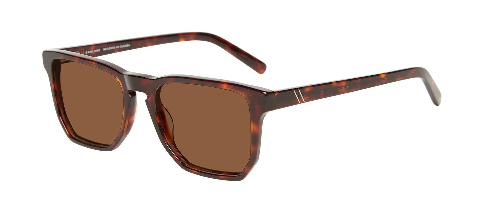 Affordable Fashion Glasses Square Sunglasses Men Andy Tortoise Tilt