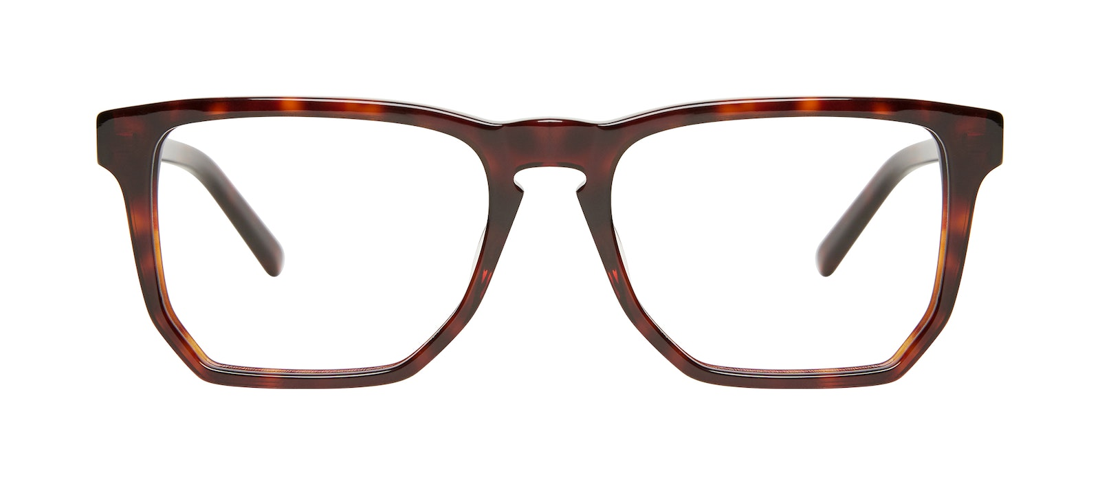 Affordable Fashion Glasses Square Eyeglasses Men Andy Tortoise Front