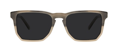 Affordable Fashion Glasses Square Sunglasses Men Andy Two Tone Stone Front