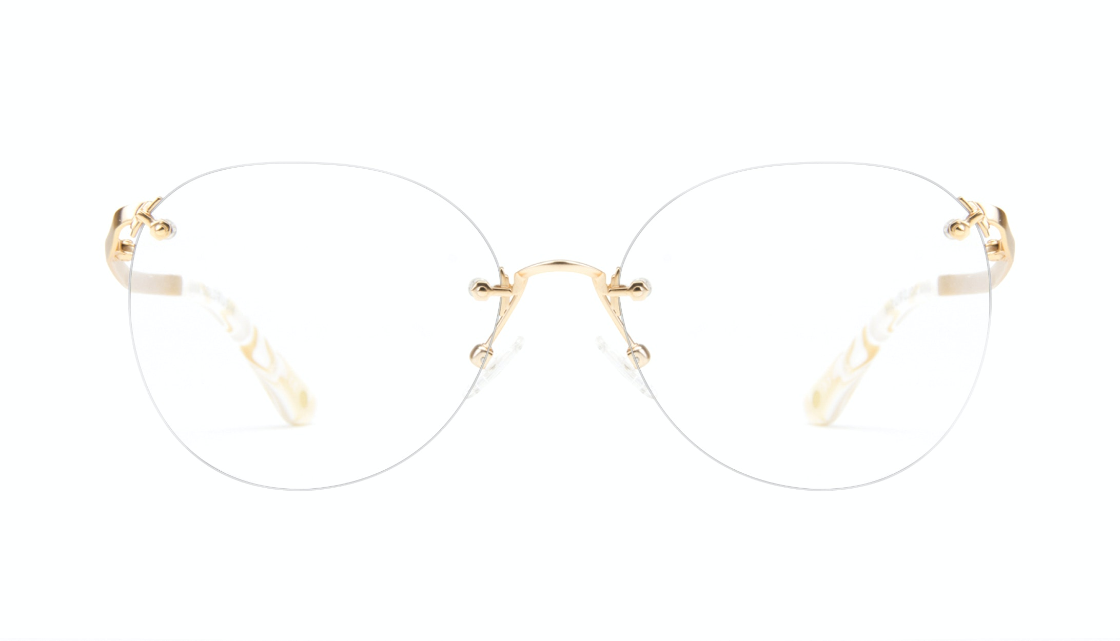 Affordable Fashion Glasses Aviator Eyeglasses Women Anna Goldrush