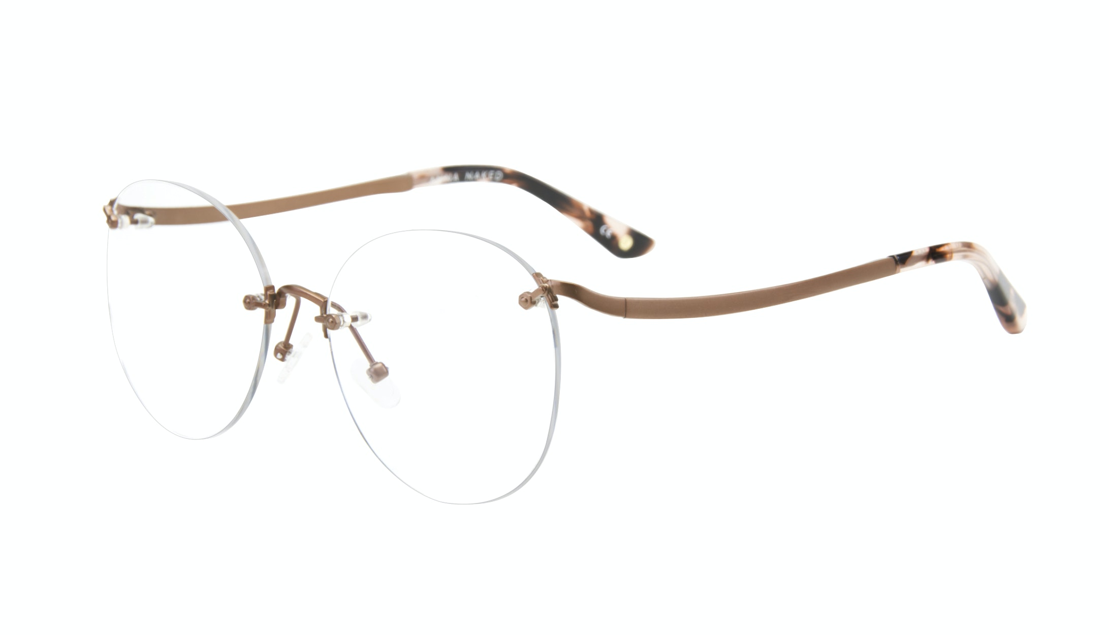 Affordable Fashion Glasses Aviator Cat Eye Eyeglasses Women Anna Naked Tilt