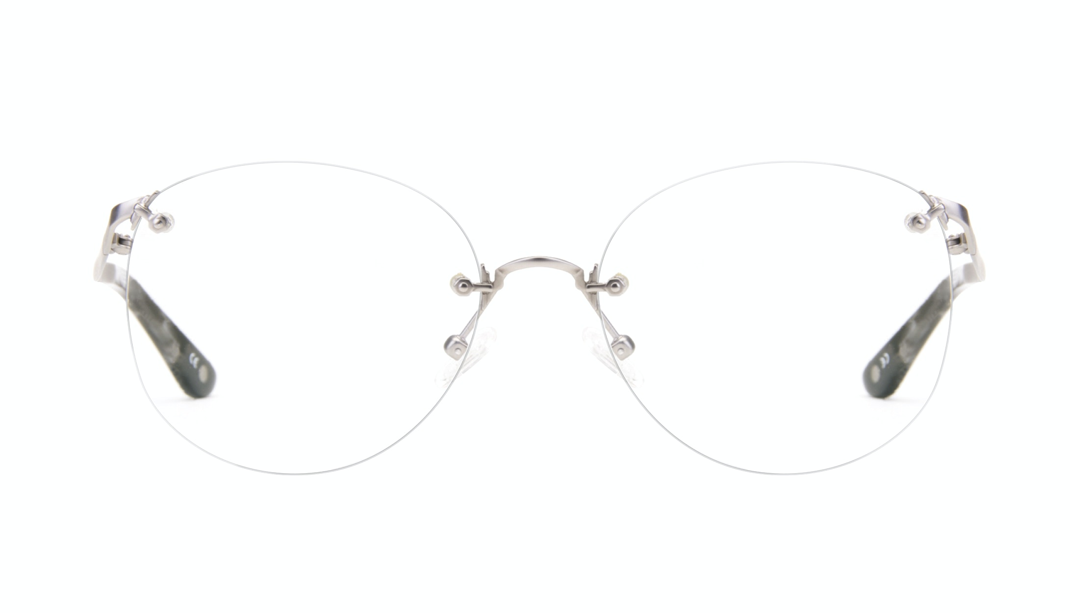Affordable Fashion Glasses Aviator Eyeglasses Women Anna Steel Front