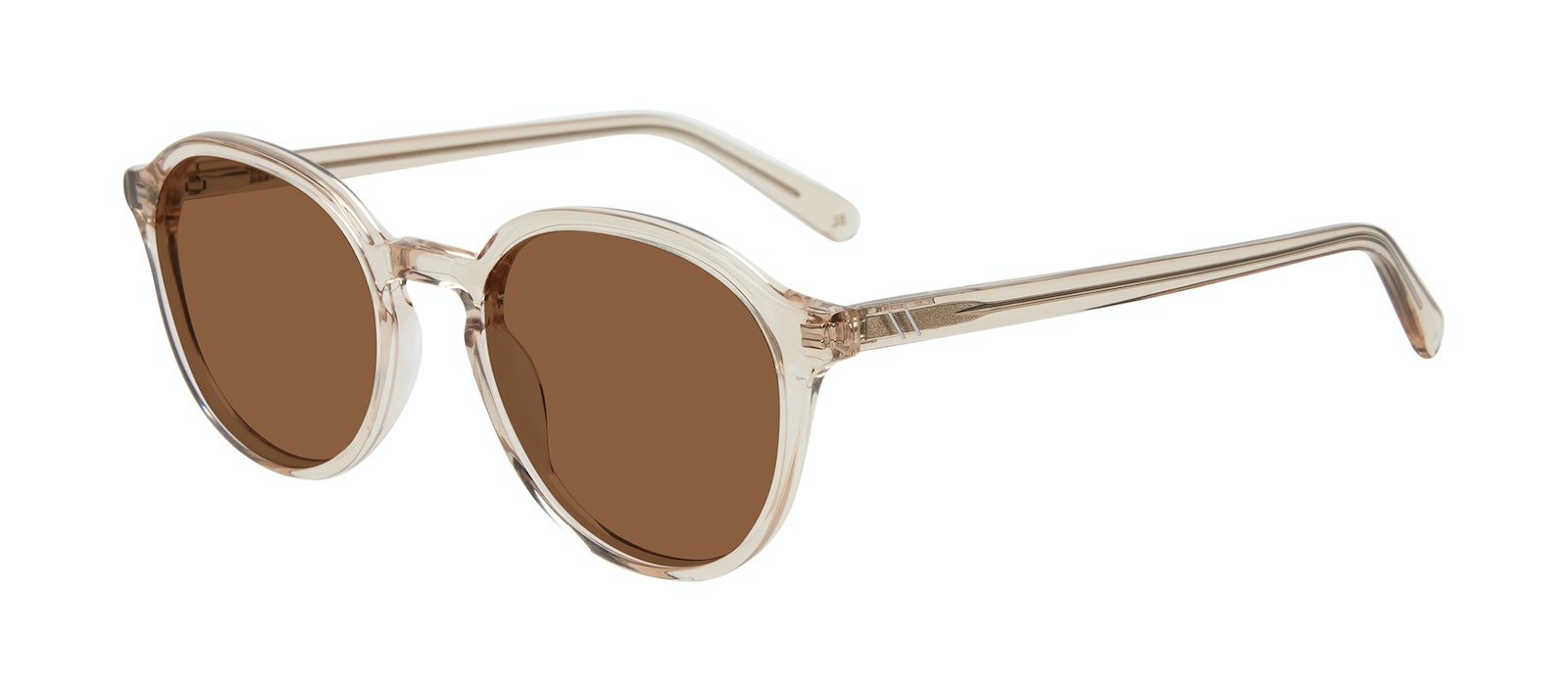 Affordable Fashion Glasses Round Sunglasses Men Ansel Golden Tilt