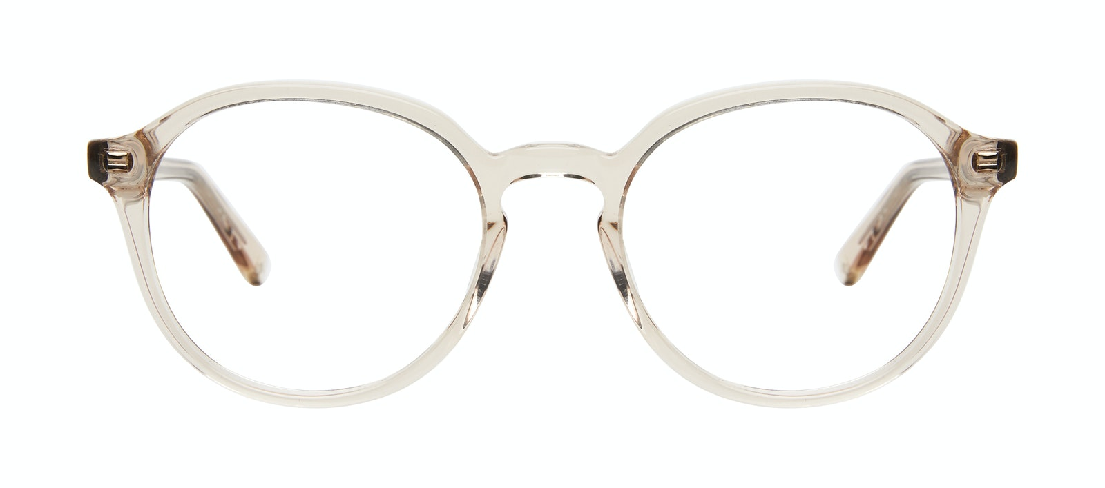 Affordable Fashion Glasses Round Eyeglasses Men Ansel Golden Front