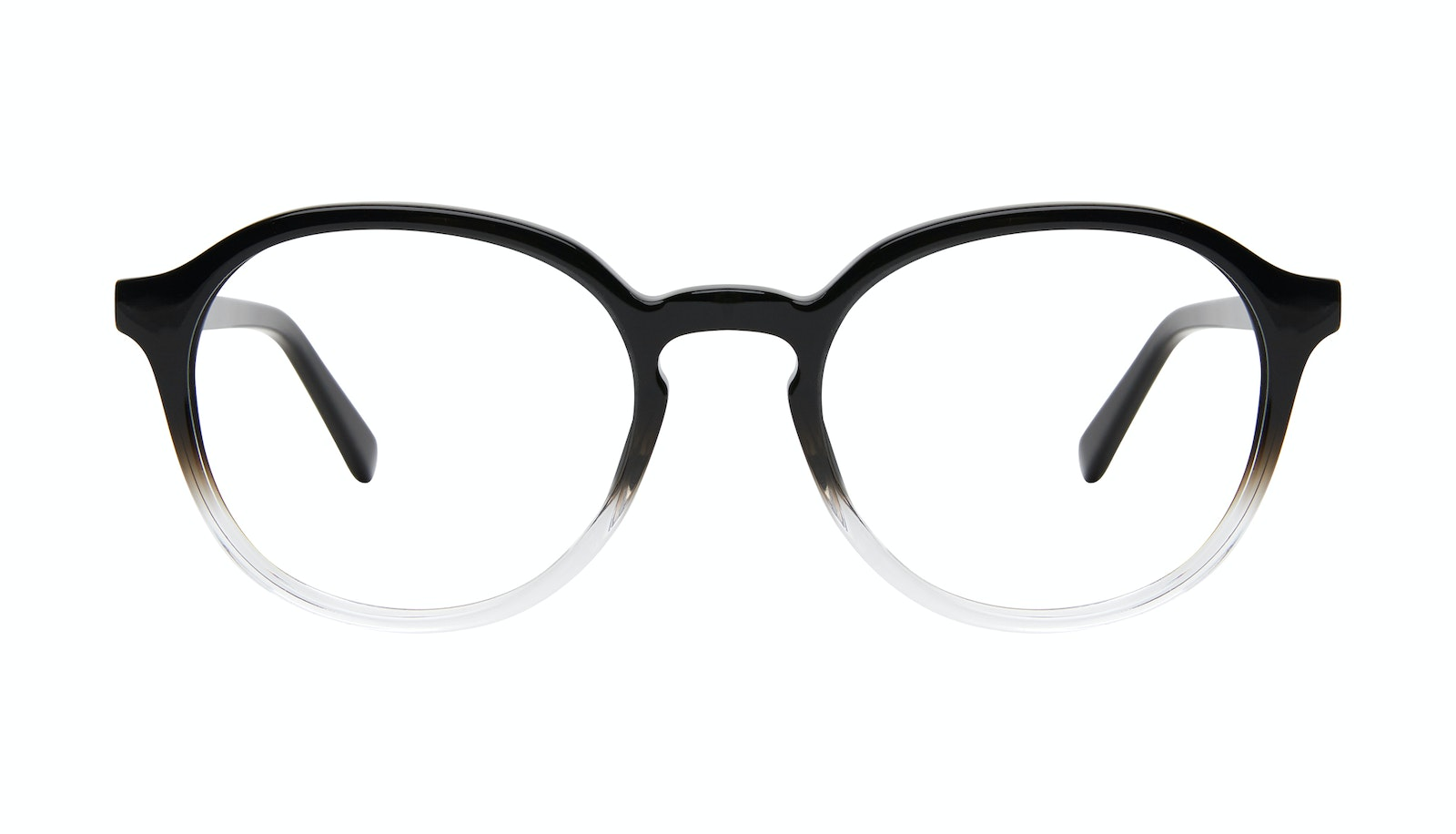 Affordable Fashion Glasses Round Eyeglasses Men Ansel Onyx Clear