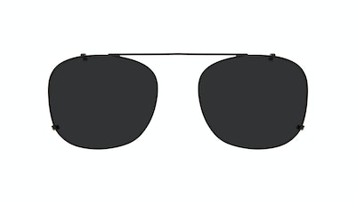 Affordable Fashion Glasses Accessory Men Apex Clip M Matte Black Front