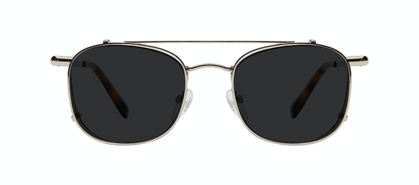 Affordable Fashion Glasses Accessory Men Apex Clip S Silver Side