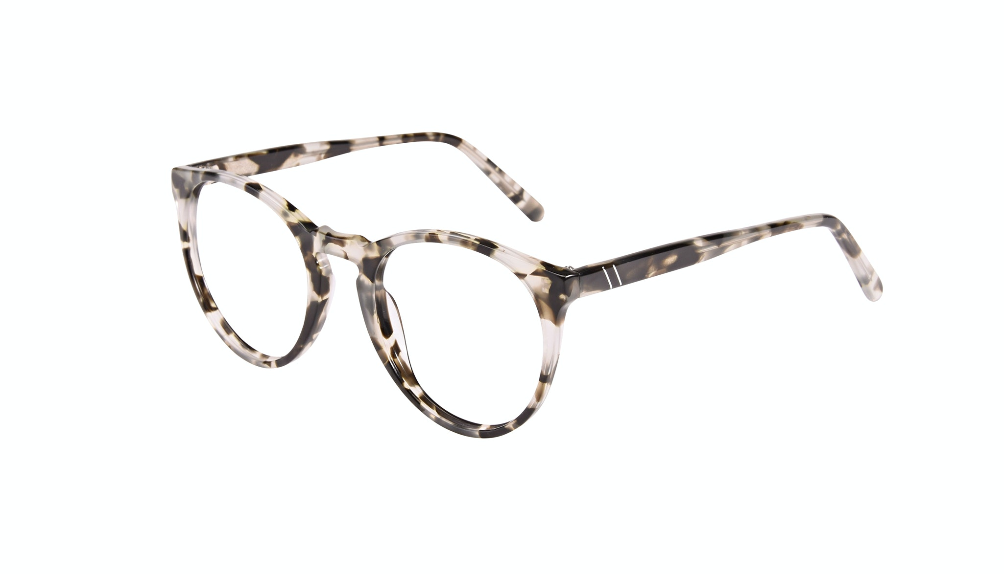 Affordable Fashion Glasses Round Eyeglasses Men Arch Camo Tort Tilt