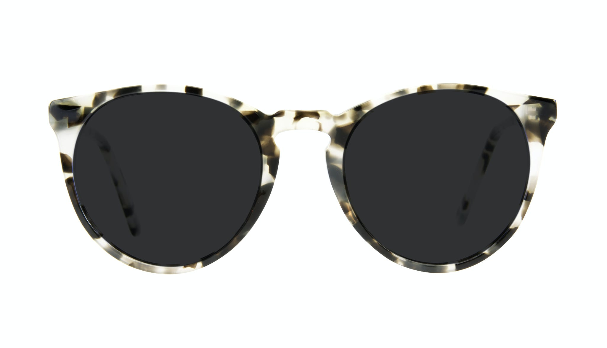 Affordable Fashion Glasses Round Sunglasses Men Arch Camo Tort Front