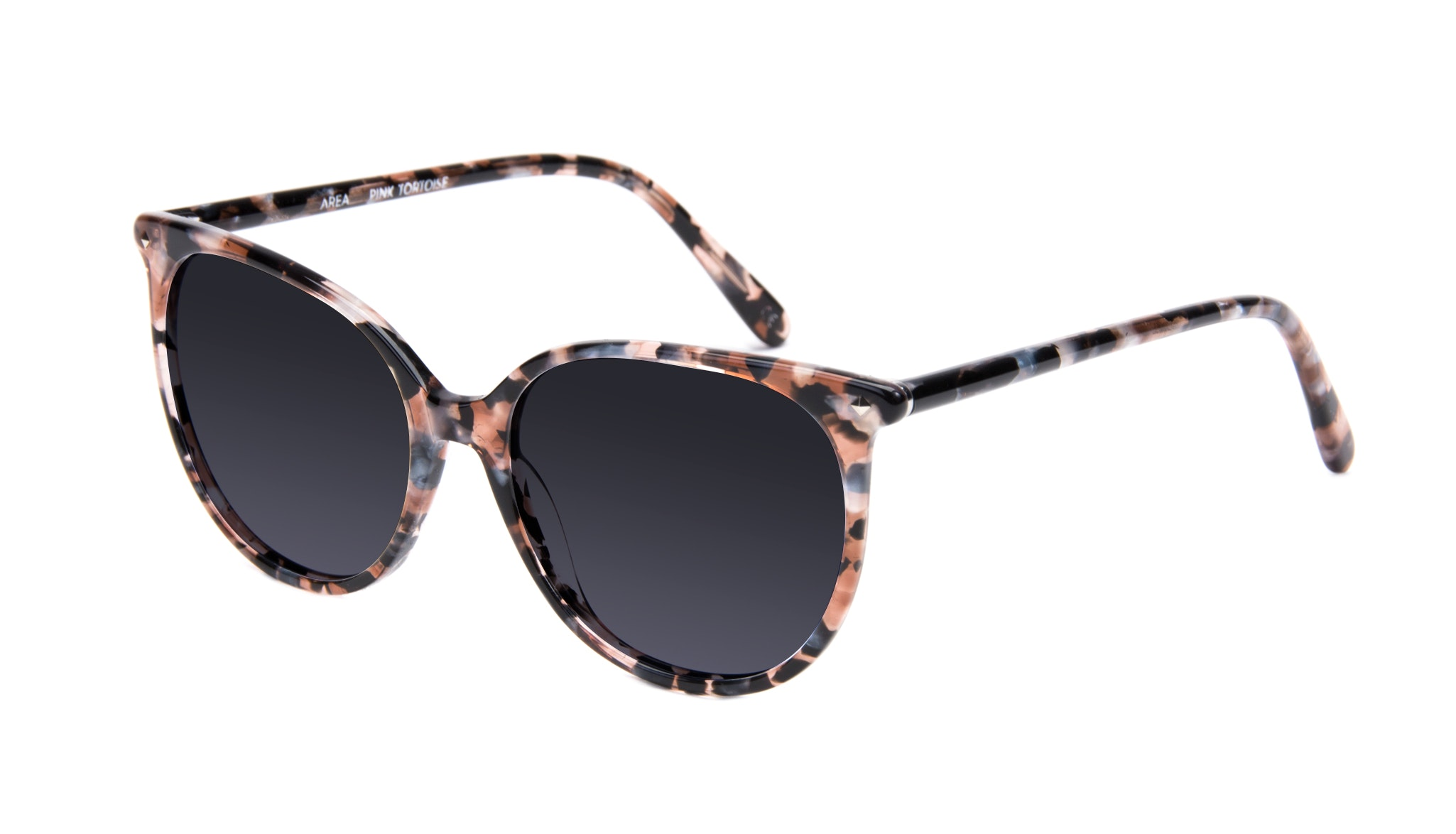 Affordable Fashion Glasses Cat Eye Square Sunglasses Women Area Pink Tortoise Tilt