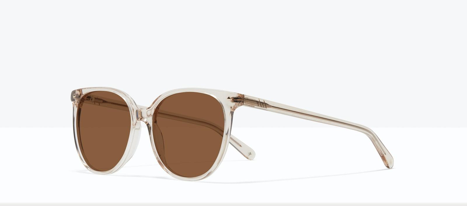 Affordable Fashion Glasses Round Sunglasses Women Area S Blond Tilt