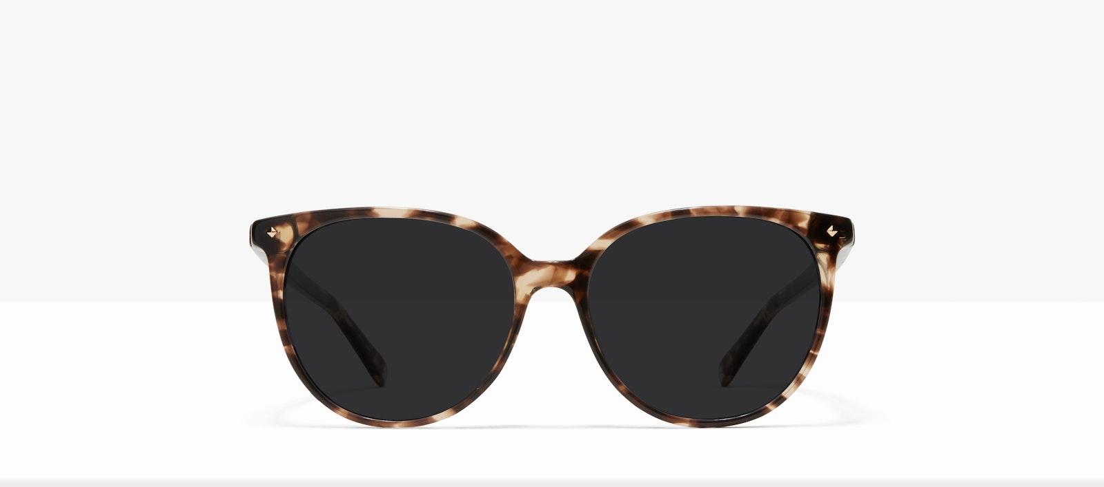 Affordable Fashion Glasses Round Sunglasses Women Area L Leopard Front