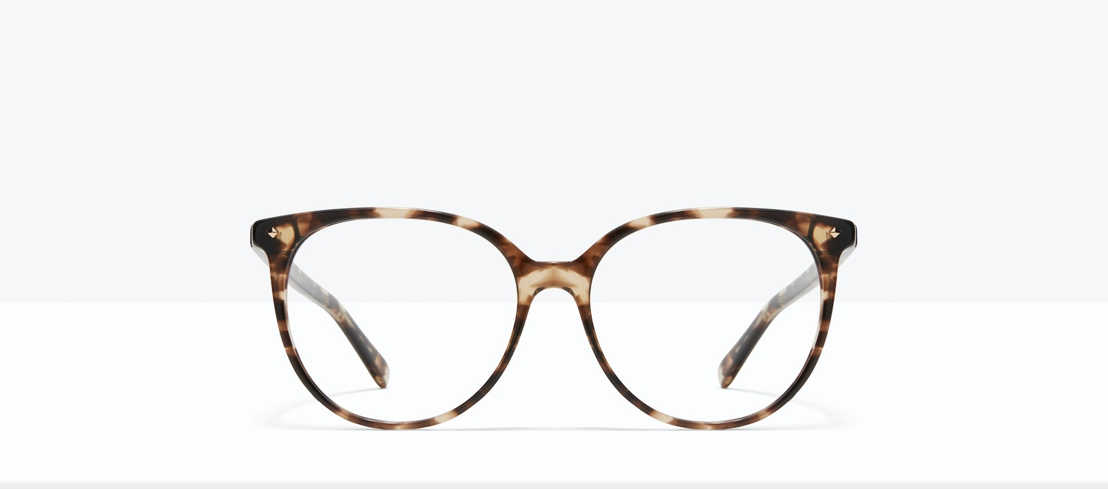Affordable Fashion Glasses Round Eyeglasses Women Area S Leopard Front