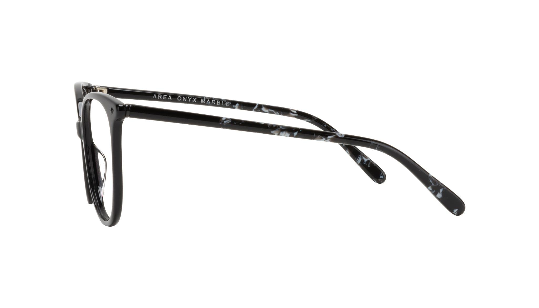Affordable Fashion Glasses Round Eyeglasses Women Area Onyx Marble Side