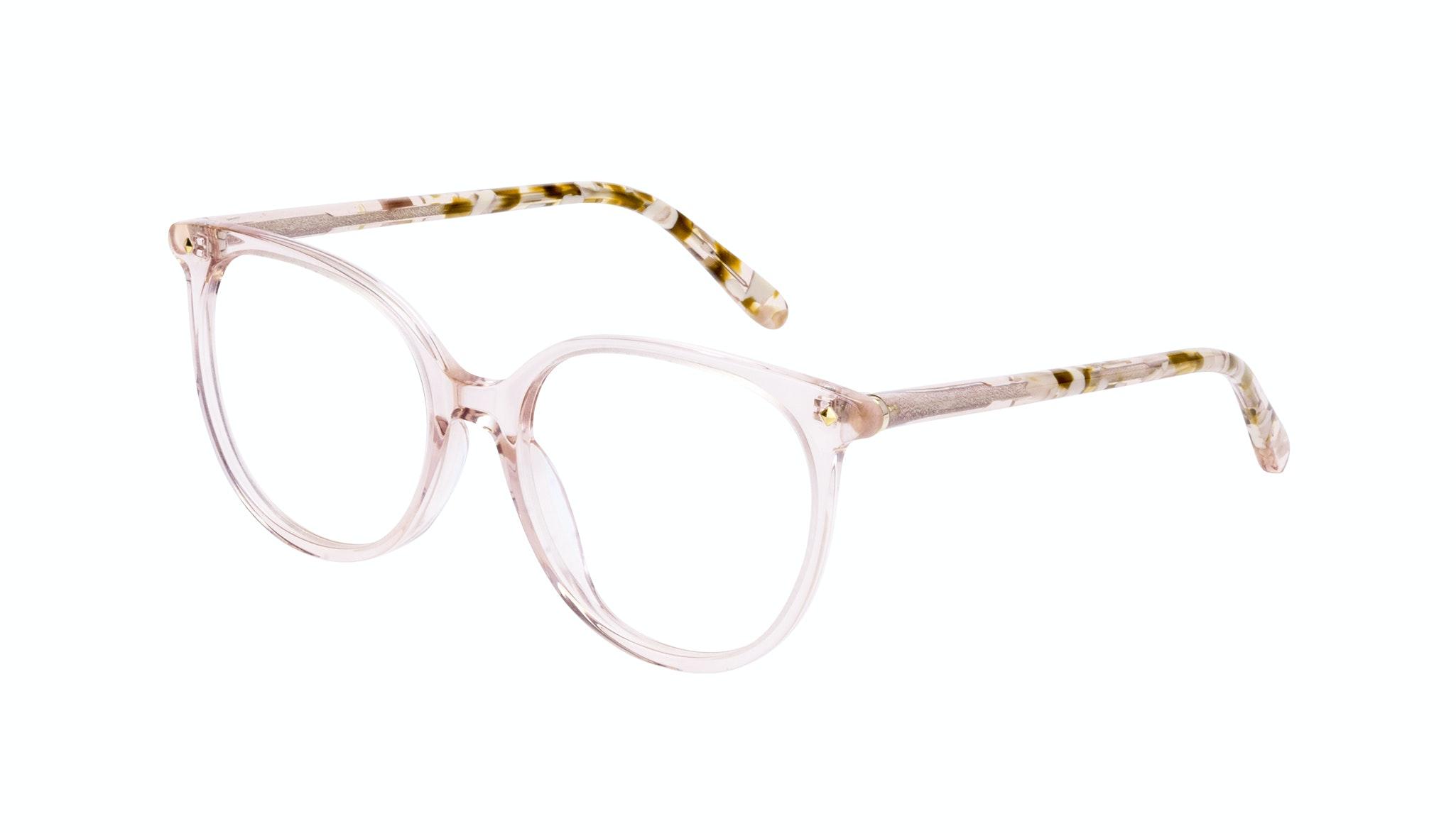 Affordable Fashion Glasses Round Eyeglasses Women Area Petite Rose Tilt