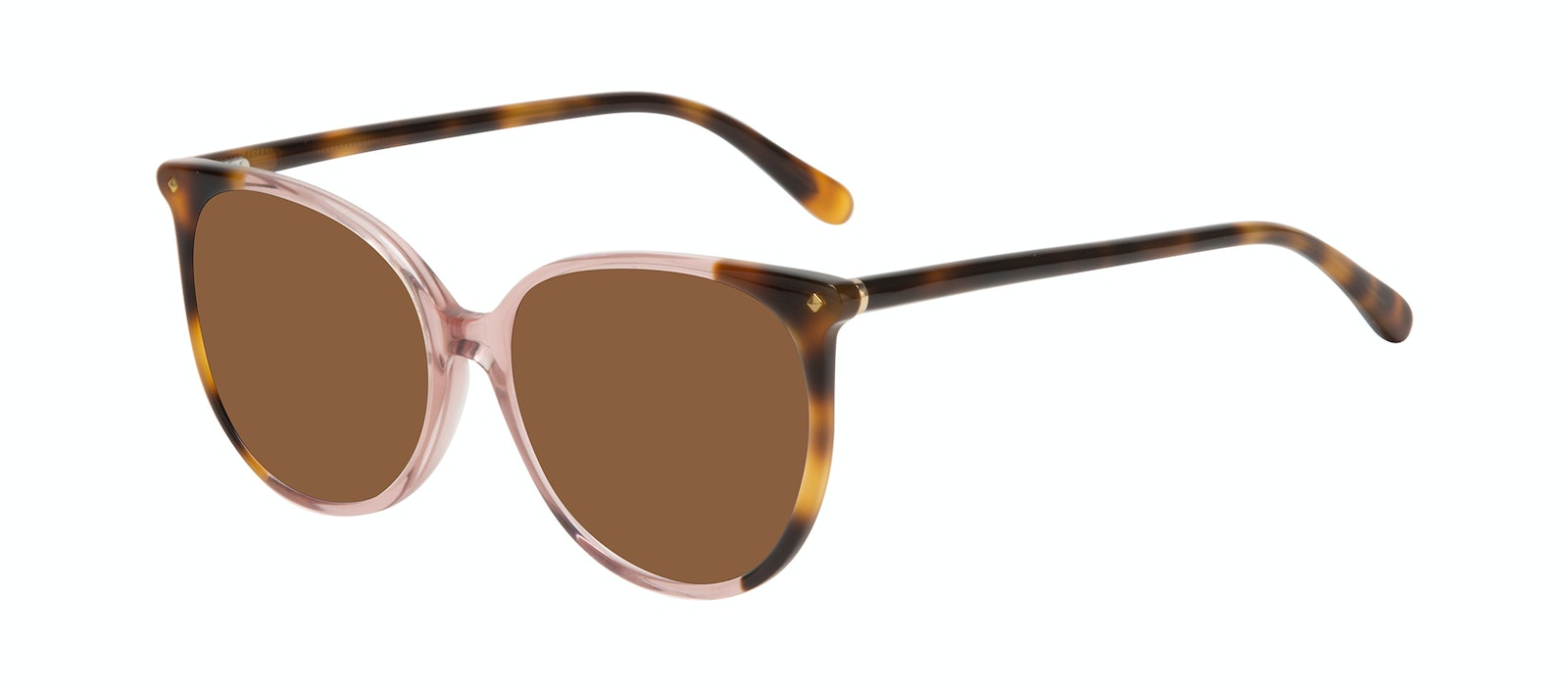 Affordable Fashion Glasses Round Sunglasses Women Area Rose Tort Tilt
