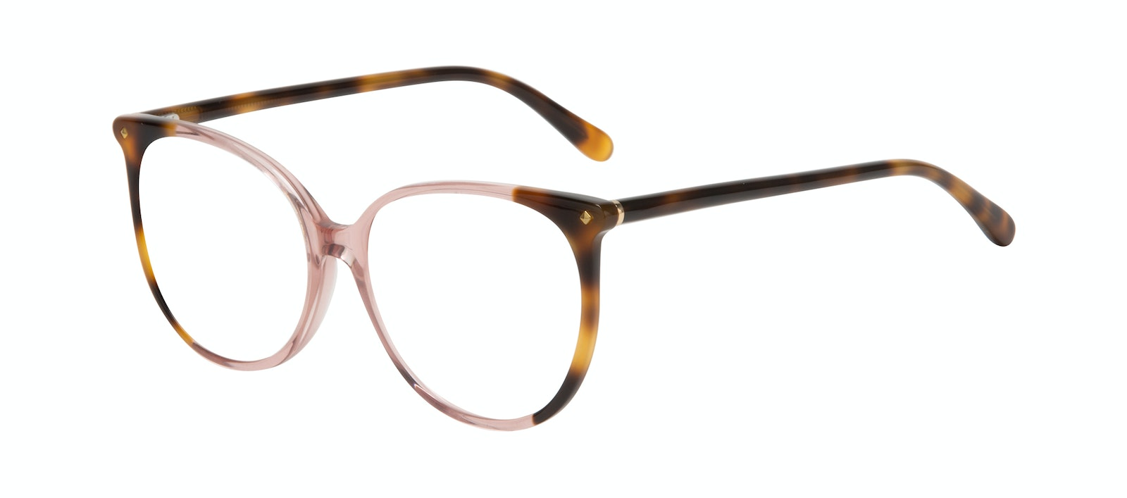 Affordable Fashion Glasses Round Eyeglasses Women Area Rose Tort Tilt