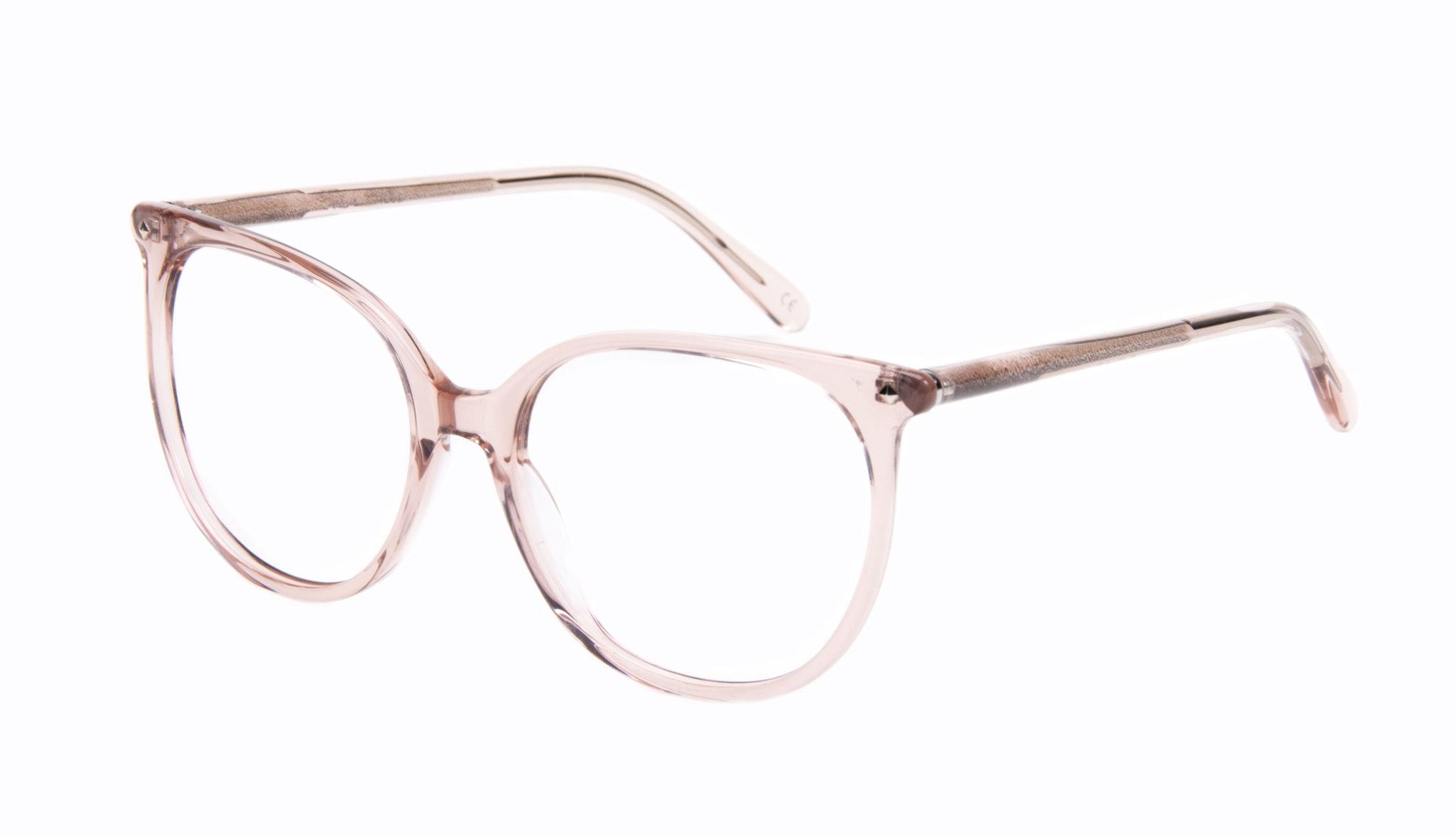 Affordable Fashion Glasses Cat Eye Square Eyeglasses Women Area Rose Tilt