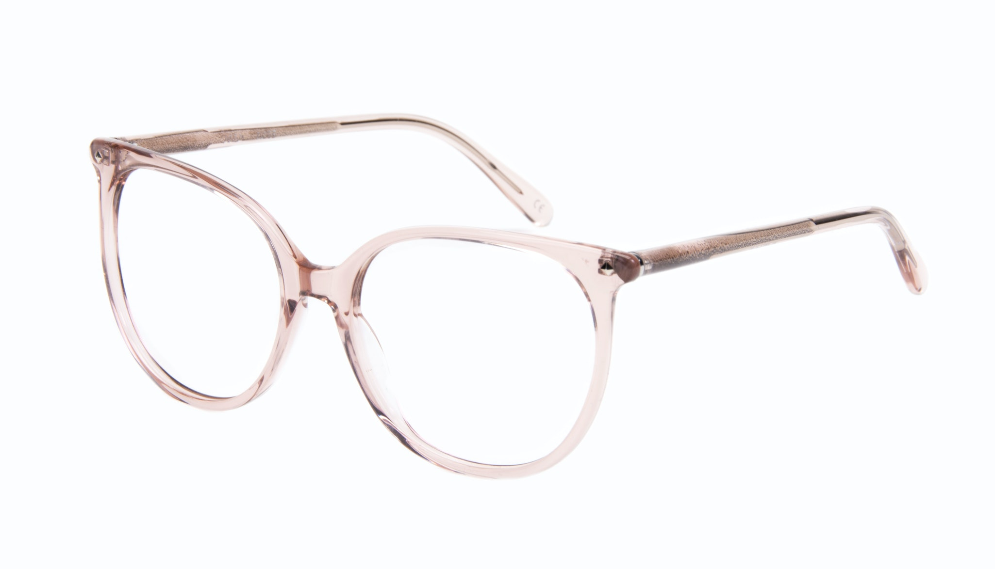 Affordable Fashion Glasses Cat Eye Square Eyeglasses Women Area Rose Tilt