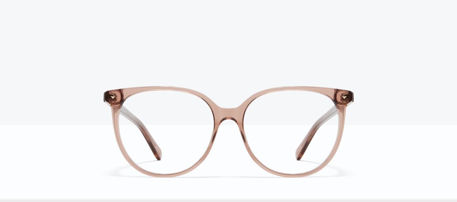 Affordable Fashion Glasses Round Eyeglasses Women Area L Rose Front