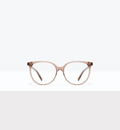 Affordable Fashion Glasses Round Eyeglasses Women Area L Rose Front