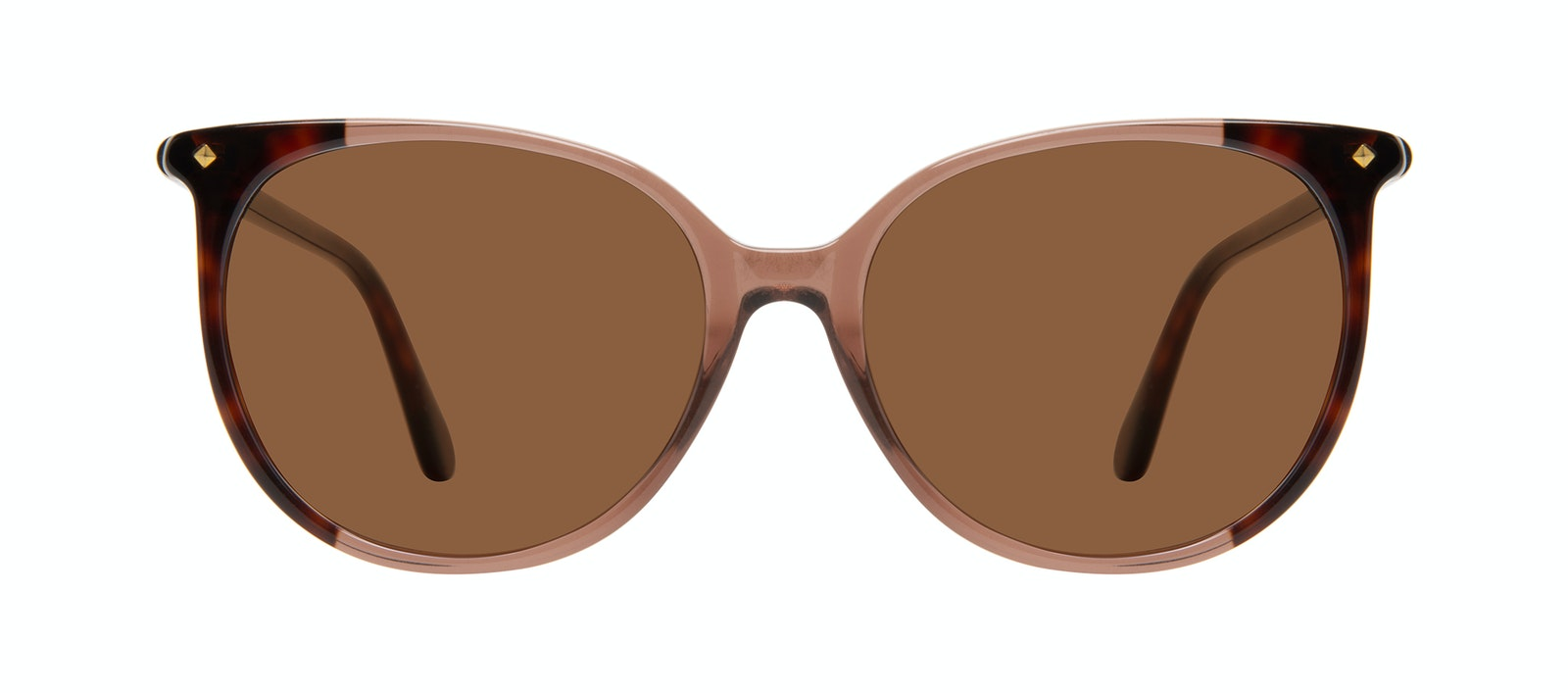 Affordable Fashion Glasses Round Sunglasses Women Area Terra Tort Front