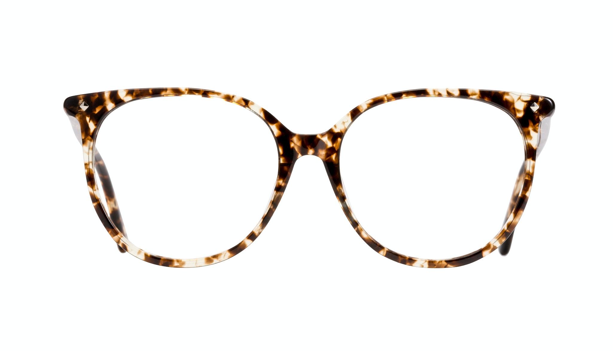 Affordable Fashion Glasses Cat Eye Square Eyeglasses Women Area Tortoise Front