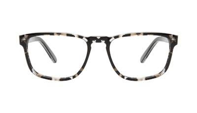 Affordable Fashion Glasses Square Eyeglasses Men Arctic Glacier Front