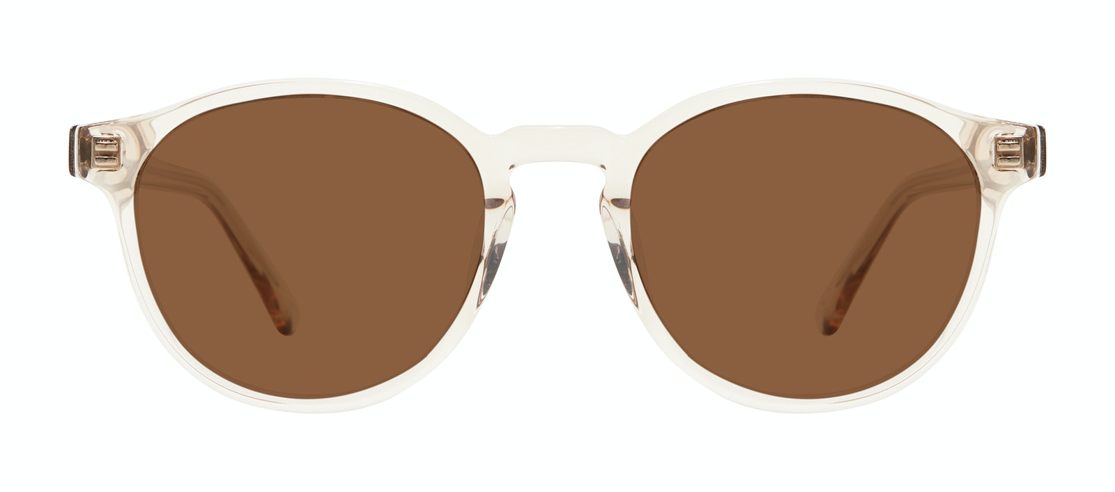 Affordable Fashion Glasses Round Sunglasses Men Aussie Clay Front