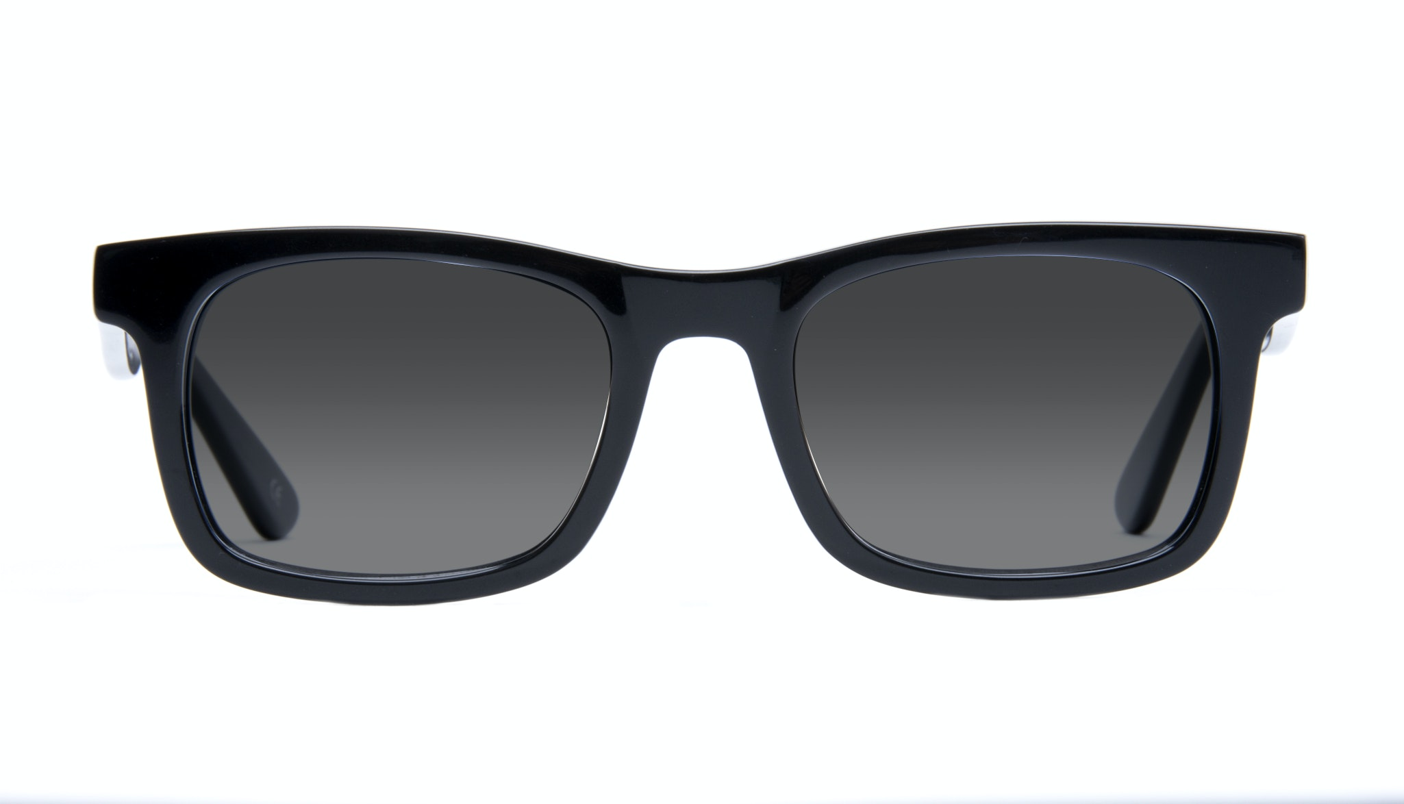 Affordable Fashion Glasses Square Sunglasses Men Women Belgo Black
