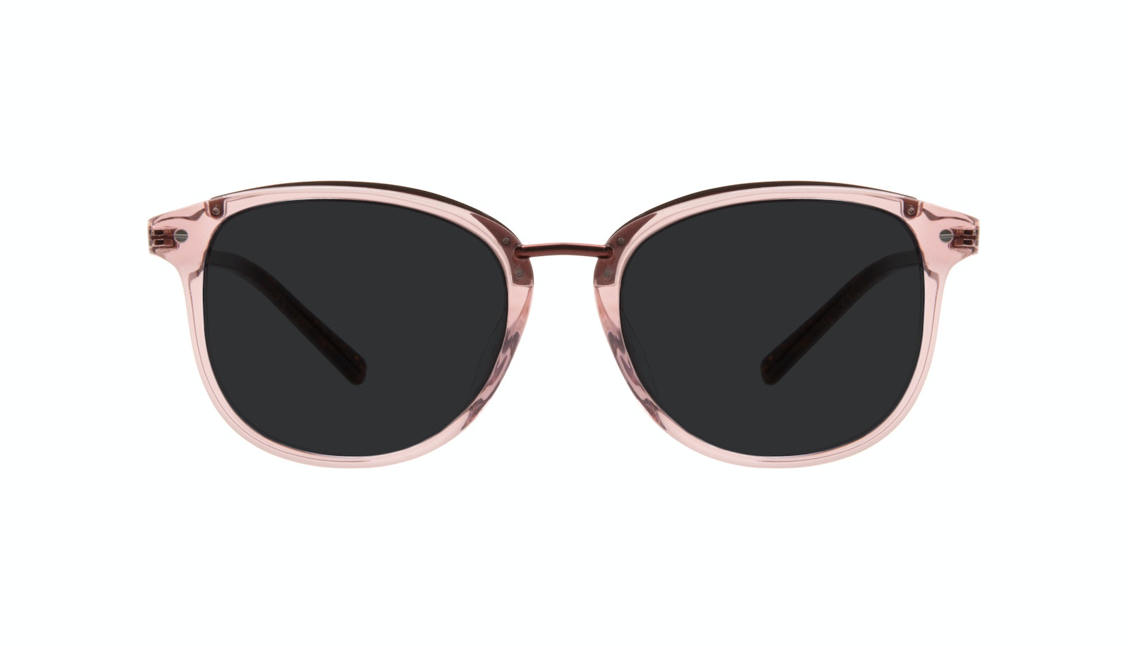Affordable Fashion Glasses Round Sunglasses Women Bella Petite Rose