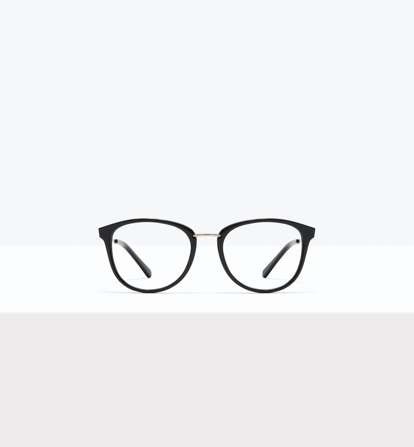 Affordable Fashion Glasses Square Round Eyeglasses Women Bella M Black