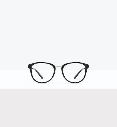 Affordable Fashion Glasses Square Round Eyeglasses Women Bella M Black Front
